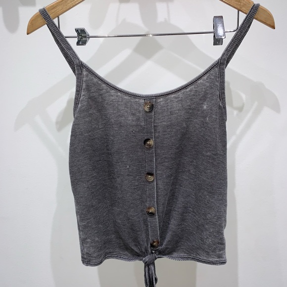 American Eagle Outfitters Tops - grey American Eagle tank top